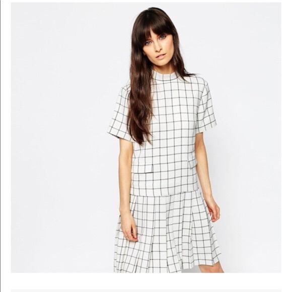 ASOS Dresses & Skirts - asos exclusive le kilt • ss pleat dress • 10